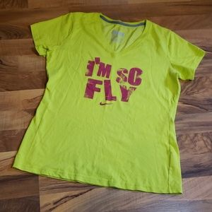 "Nike ""I'M SO FLY"" Dri-Fit WorkOut Top"